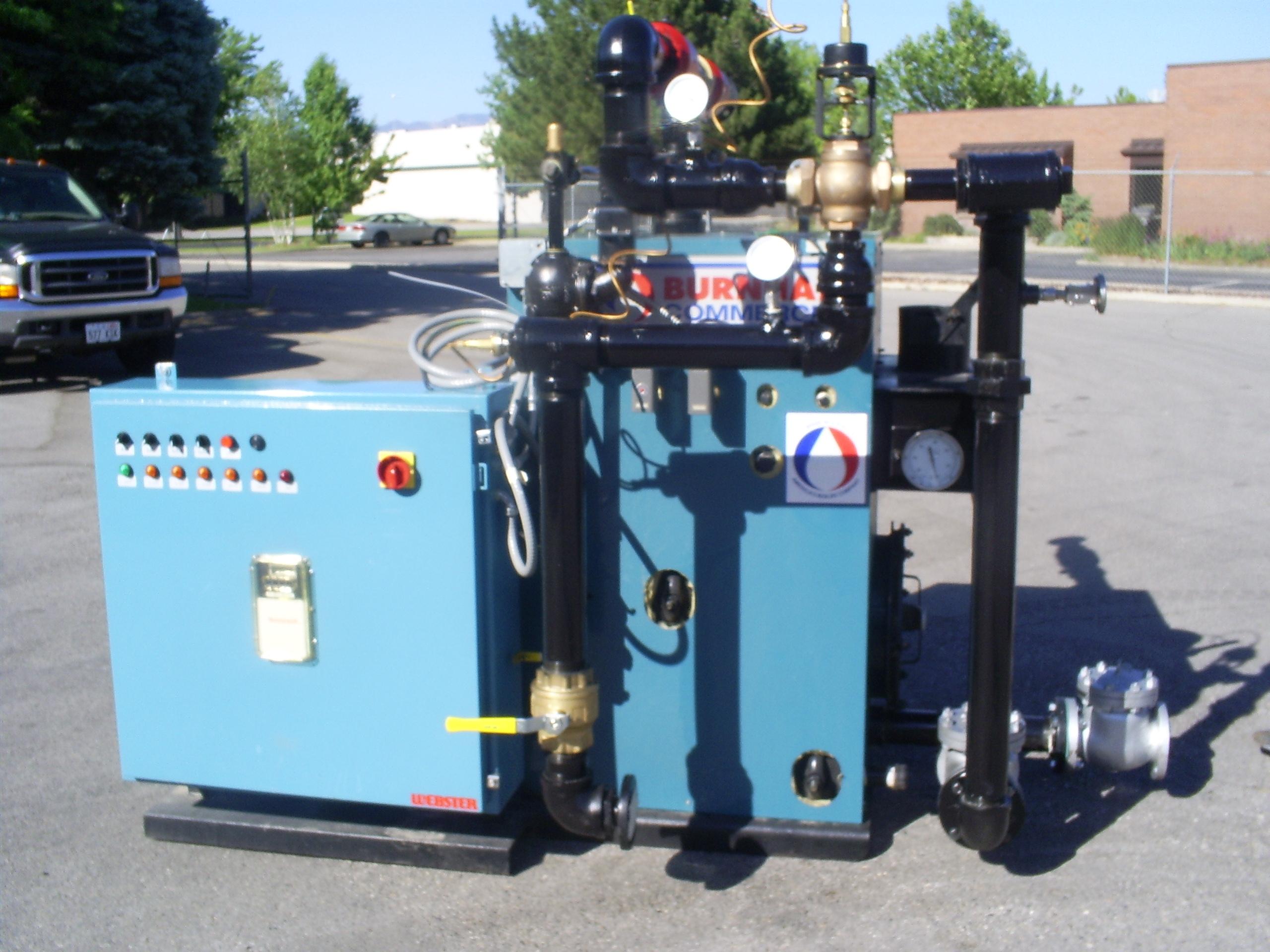 Dual-Fuel Boilers | Olympus Technologies, Inc.